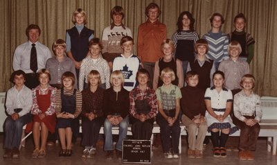 Colonel John Butler Public School, 1977-78, grade 6 & 7