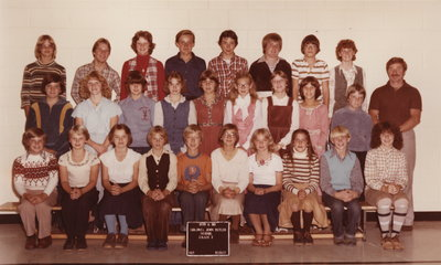 Colonel John Butler Public School, 1979-80, grade 7
