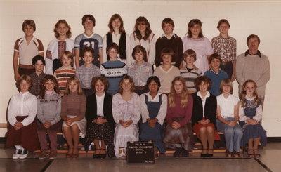Colonel John Butler Public School, 1981-82, grade 7