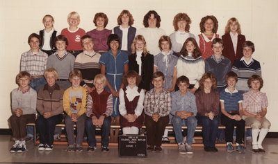 Colonel John Butler Public School, 1982-83, grade 7