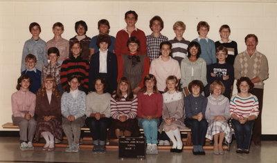 Colonel John Butler Public School, 1983-84, grade 7