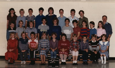 Colonel John Butler Public School, 1985-86, grade 6 & 7