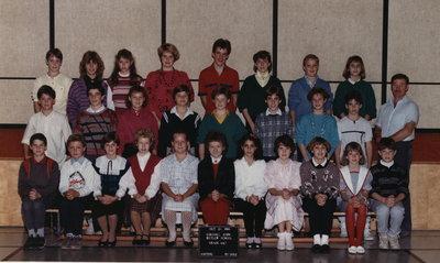 Colonel John Butler Public School, 1986-87, grade 6 & 7