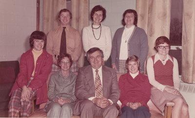 Colonel John Butler Public School Staff 1973-74