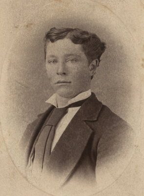 Portrait of Charles Matthew Lowery as a young man