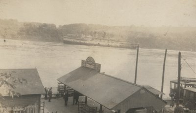 Queenston Dock in the 1920s