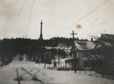 Queen Street in Queenston (about 1920)