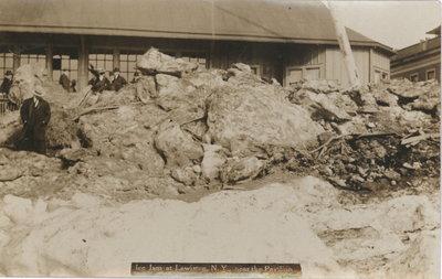 Ice jam 1909 at Lewiston, N. Y.