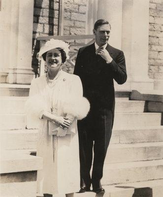 King George VI and Queen Elizabeth in Niagara Falls, June 1939