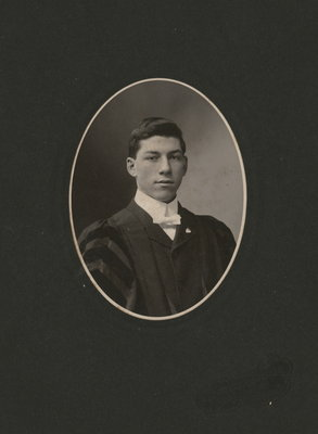 Portrait of young Robert Jackson Lowrey