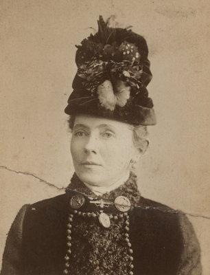 Portrait of Hannah Catherine (nee Lowrey) Woodruff
