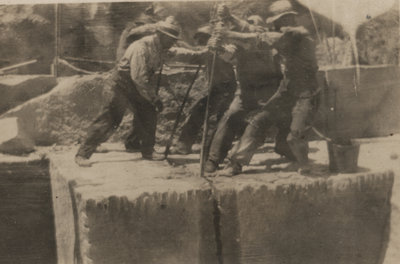 Workers of the Queenston Quarry Company