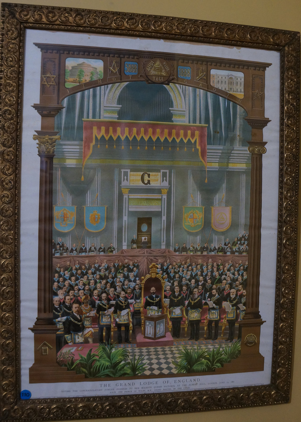 The Grand Lodge of England, 1887