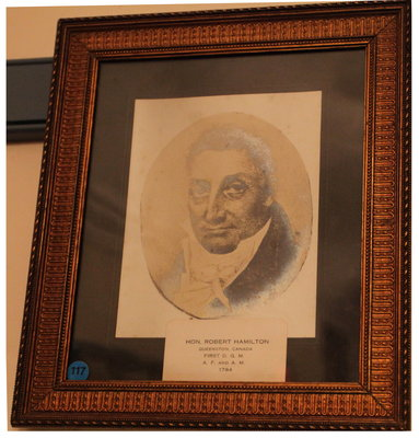 Portrait of Robert Hamilton, Provincial Deputy Grand Master of Upper Canada, 1796