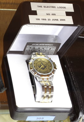 Centenary watch of Electric Lodge No. 495, 1909-2009