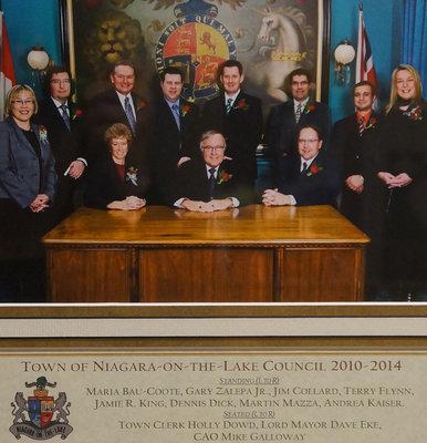 Town of Niagara-on-the-Lake Council 2010-2014