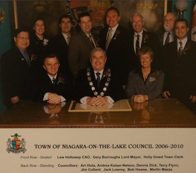 Town of Niagara-on-the-Lake Council 2006-2010