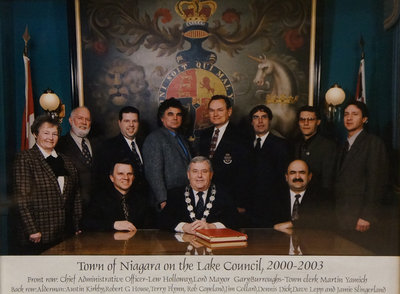 Town of Niagara-on-the-Lake Council, 2000-2003