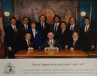Town of Niagara-on-the-Lake Council, 1994-1997