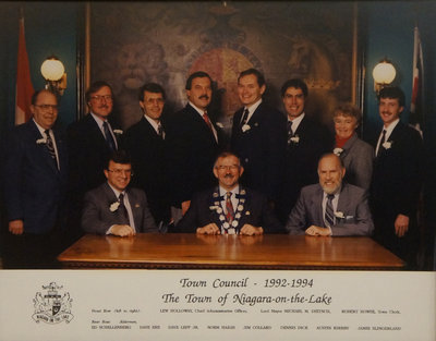 Town of Niagara-on-the-Lake Council, 1992-1994