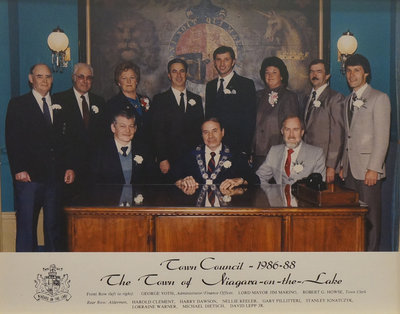 Town of Niagara-on-the-Lake Council, 1986-1988