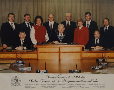 Town of Niagara-on-the-Lake Council, 1983-1985