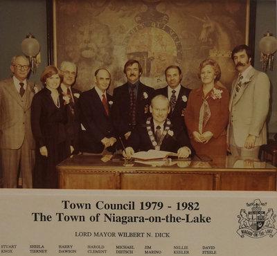 Town of Niagara-on-the-Lake Council, 1979-1982