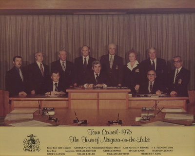 Town of Niagara-on-the-Lake Council, 1976