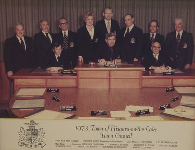 Town of Niagara-on-the-Lake Council, 1973