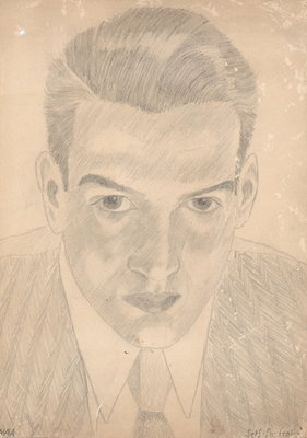 Norman Armstrong Self Portrait