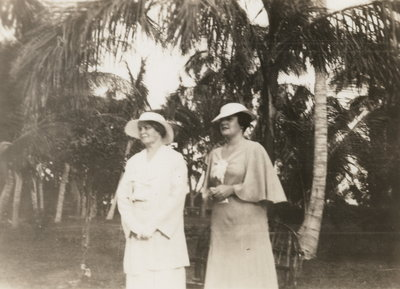 Elizabeth Armstrong and Dorothy Walsh in Palm Beach