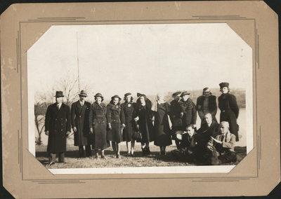 Armstrong Family Christmas, 1939