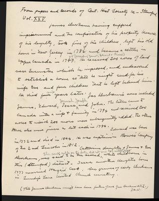 James Durham: Ontario Historical Society , Vol 25