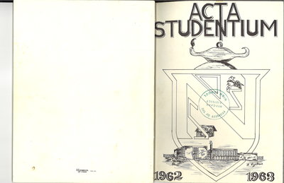 Niagara District Secondary School Yearbook (1962-1963)