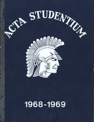 Niagara District Secondary School Yearbook (1968-1969)