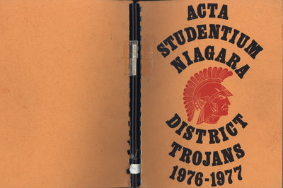 Niagara District Secondary School Yearbook (1976-1977)
