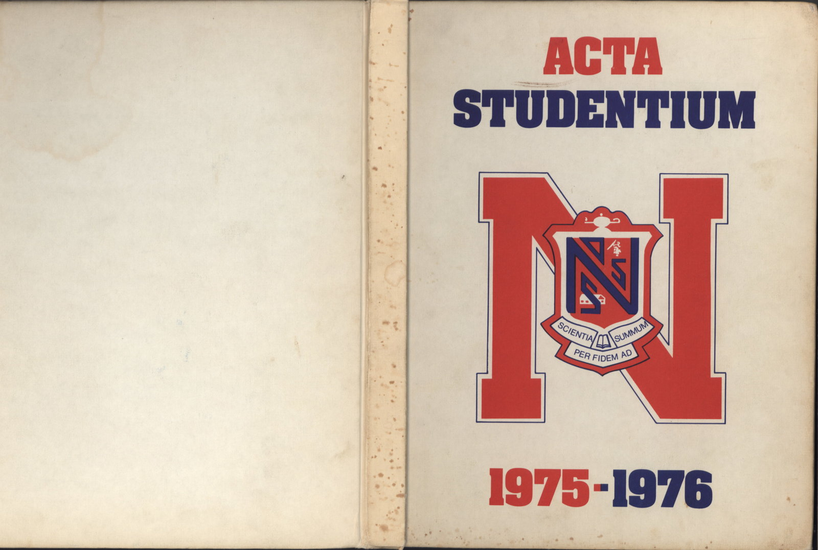 Niagara District Secondary School Yearbook (1975-1976)