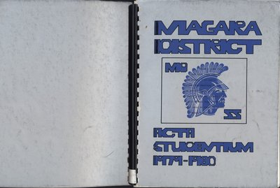 Niagara District Secondary School Yearbook (1979-1980)