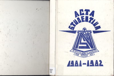 Niagara District Secondary School Yearbook (1981-1982)