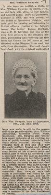 Mrs. William Swayzie