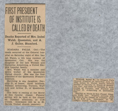 First president of Institute is called by death