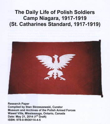 The Daily Life of Polish Soldiers. Camp Niagara, 1917-1919