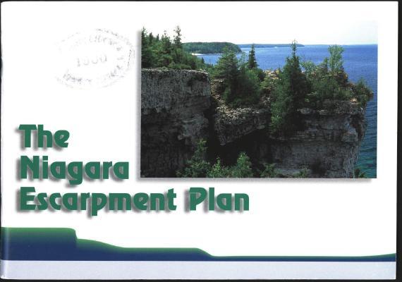 The Niagara Escarpment Plan