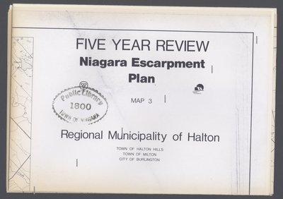 Niagara Escarpment Plan: Regional Municipality of Halton, 1991 (Map 3)