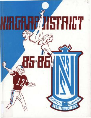 Niagara District Secondary School Yearbook (1985-1986)