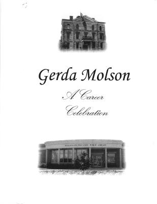 "Gerda Molson - ""A Career Celebration"""