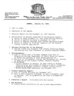 1998 Library Board Minutes