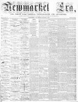 Newmarket Era (Newmarket, ON), January 2, 1863