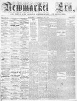 Newmarket Era (Newmarket, ON), January 9, 1863