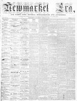 Newmarket Era (Newmarket, ON), January 30, 1863